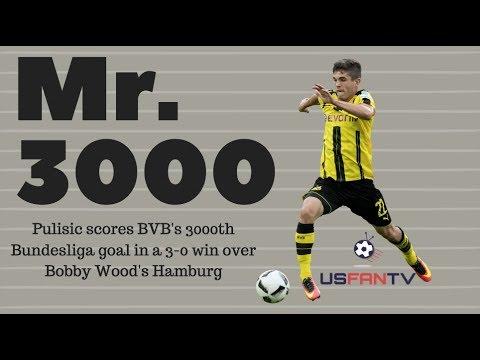 USfanTV: Pulisic scores in BVB win over Wood's Hamburg