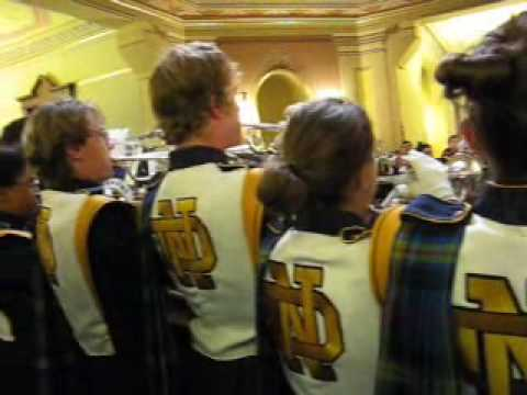 Notre Dame Trumpets Under the Golden Dome