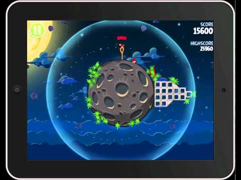 Angry Birds Space 3 Stars Walkthrough Levels 1-8