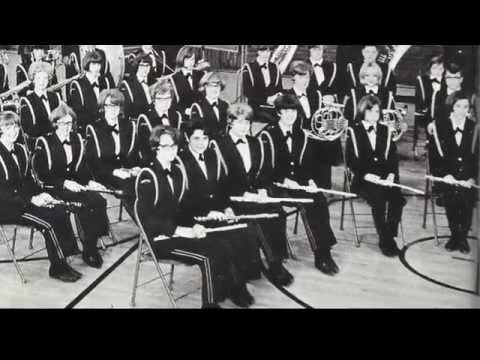 Red's White and Blue March - 1968 GHS Concert Band