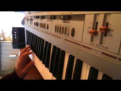 Casio CT-310 Circuit Bent (playing Ake Buo)