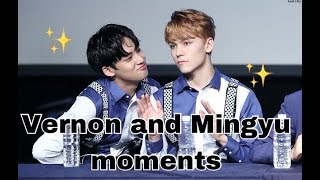 Video SEVENTEEN Vernon And Mingyu Moments download MP3, 3GP, MP4, WEBM, AVI, FLV Juni 2018