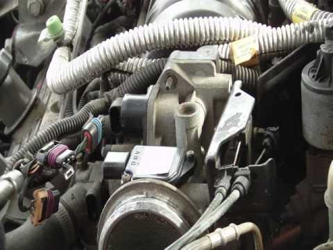 How to Replace the Throttle body of a Pontiac Grand Prix