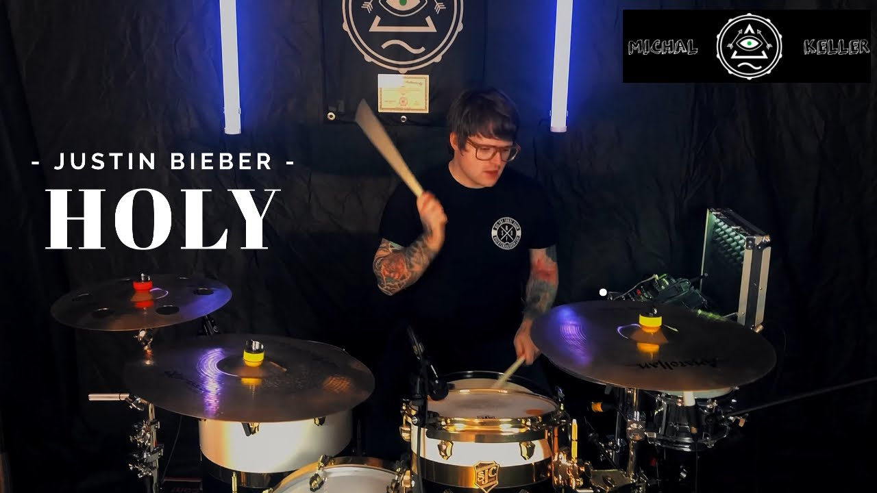 Justin Bieber - Holy ft. Chance The Rapper ( drum cover by Michal Keller )