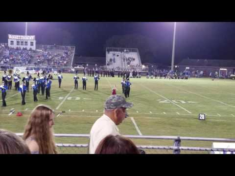 Autumn's last half time football mats for Vancleave High School senior year October 28th 2016