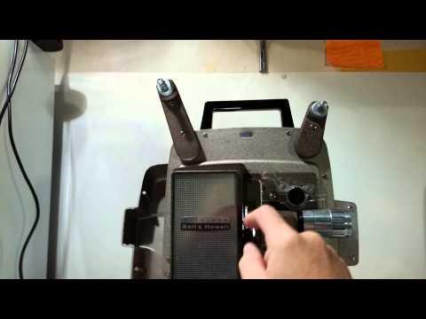 Bell & Howell Model 245 BA 8mm projector
