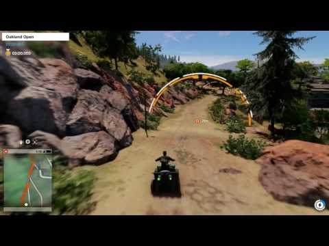Watch_Dogs 2 - Motorcross Race: Oakland Open
