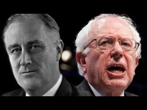 Berne Sanders Goes Full FDR On Wall Street
