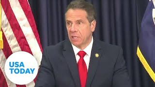 Gov. Andrew Cuomo holds his daily briefing on pandemic response in New York   USA TODAY