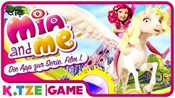 Let's Play Mia and Me auf Deutsch ❖ Ganze Folgen der Spiele App | Part 1.