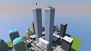 Minecraft World Trade Center Never Die