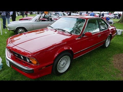 1988 Bmw M6 Greenwich Concours D Elegance Youtube