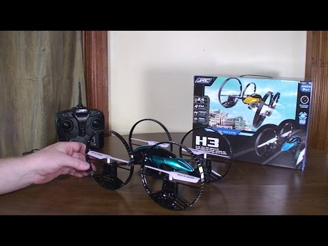 JJ R/C - H3 - Review and Flight