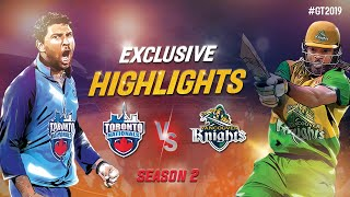 Toronto Nationals vs Vancouver Knights Exclusive Highlights | Watch the 8-Wicket Win | GT20 Canada