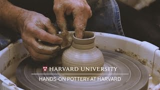 Potters give anthropology students hands-on lessons