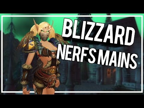BLIZZARD NERFS MAINS - Outlaw Rogue PvP WoW Legion 7.0.3