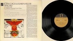 Vischer, Bruce & Tudor (harpsichords, tapes) John Cage & Lejaren Hiller HPSCHD