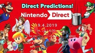 Nintendo Direct 9.4.19 Predictions! (Banjo, Overwatch, Mario Party, Mario & Luigi & More!)