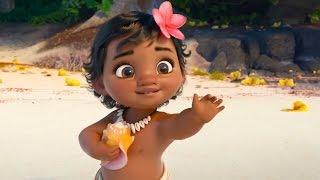 Moana - Vaiana -「モアナと伝説の海」|official international trailer #2 特報 (2016) Disney