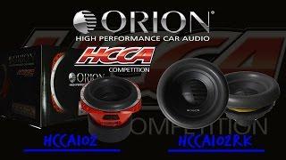 HCCA102 / HCCA102RK ORION HCCA SUBWOOFER 10
