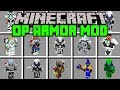 Minecraft OVERPOWERED ARMOR MOD! | CRAFT WORLD'S STRONGEST ARMOR! | Modded Mini-Game