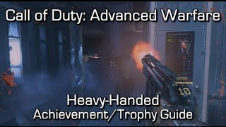 Call of Duty: Advanced Warfare - Heavy-Handed Achievement/Trophy Guide