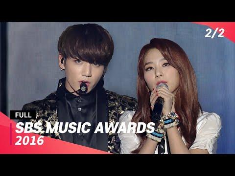 [FULL] SBS Music Awards 2016 (2/2) | 20161226 | EXO, BTS, BIGBANG, BLACKPINK, Red Velvet, TWICE, CL