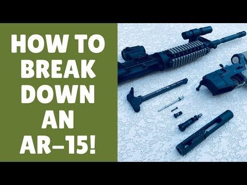 How To Break Down An AR 15 (5 EASY Steps To Field Strip Your Rifle!)