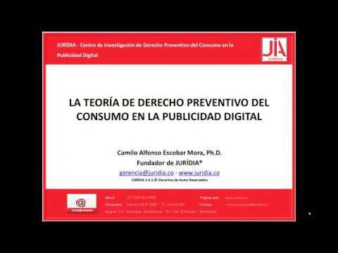 Lección 1 del Curso JURÍDIA ©. - La teoría de derecho preventivo del consumo en la publicidad