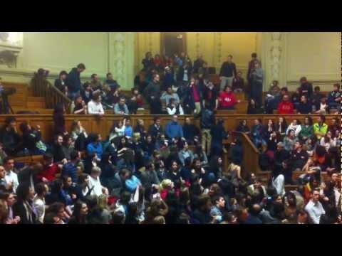 """18.03.2013 Taubira vs. La Manif pour Tous à la Sorbonne - """"L'égalité est non négociable"""""""