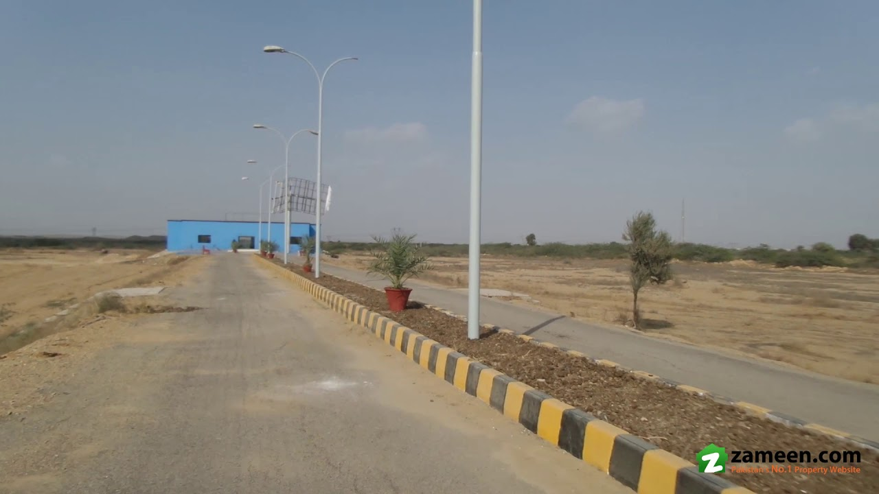 90 Sq Yd  RESIDENTIAL PLOT FILE IS AVAILABLE FOR SALE IN NORTHERN BYPASS  KARACHI