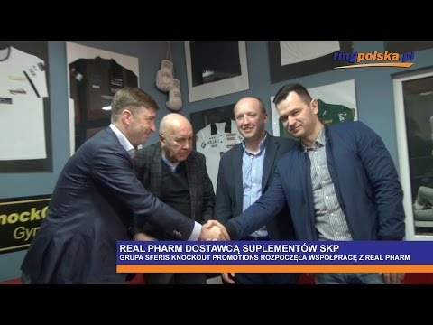 Real Pharm partnerem Sferis KnockOut Promotions