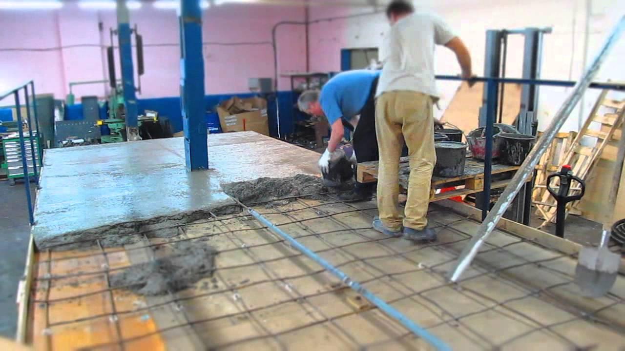 заливка стяжка бетоном