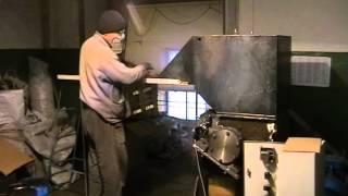 Измельчение отожжённой меди ИПМ 1 18,5 кВт(Дробление отожжённой меди., 2014-12-19T10:45:48.000Z)