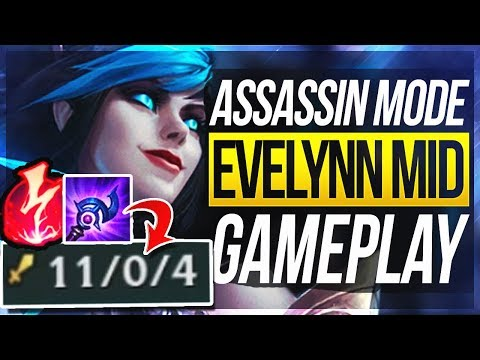 EVELYNN MID w/ NEW RUNES IS OP? WHAT IS THIS DAMAGE? Evelynn Mid Rework Gameplay | League of Legends