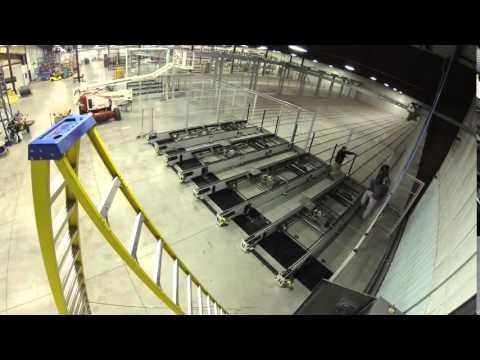 Installation af automatisk lagersystem CSF fra Barbaric