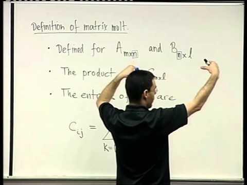 13 - Matrix multiplication