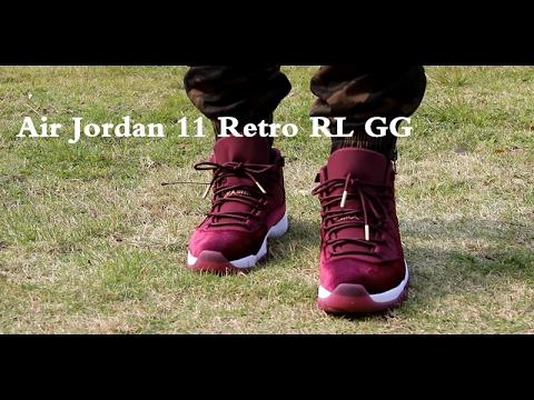 Rl Retro Feet Air Gg 11 Jordan On A4Lj53Rq