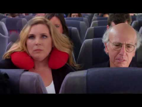 Curb Your Enthusiasm - Larry has to fly coach