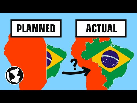 How Brazil Got So Absurdly Big | Geography & History of Brazil