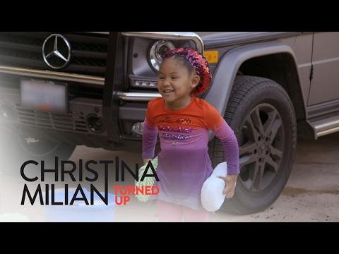 Christina Milian Turned Up  Watch Christina and Violets Car Washing Skills  E! Entertainment