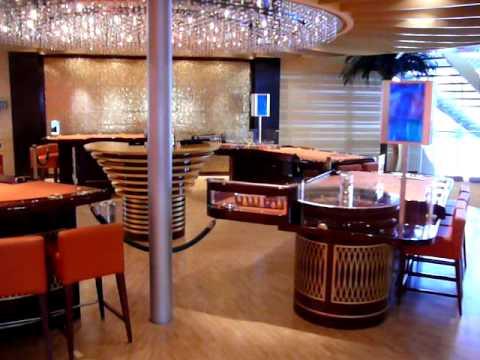 AIDAbella, Vinothek, Theater, Casino und Cafe Mare