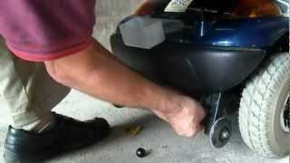 How to repair a Manual Freewheel Lever on a Super Glide Electric Motion Mobility Scooter