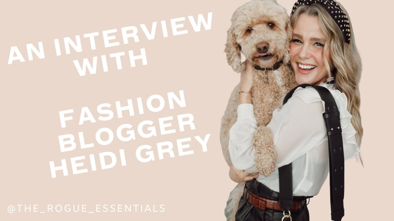 Hearty Notes: The Interviews - Heidi Grey | Instagram Influencer