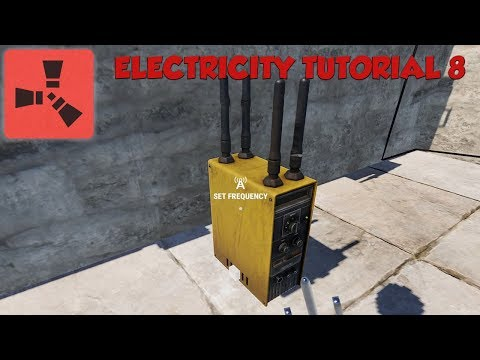Rust RF Electricity Tutorial #8 - Broadcaster - Transmitter - Receiver thumbnail