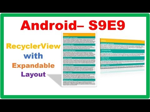 Android RecyclerView → Android Custom RecyclerView – with
