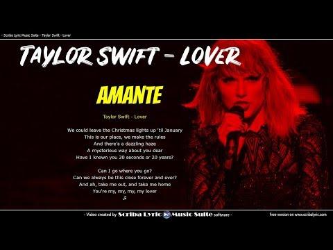 Taylor Swift - Lover - Lyrics / Video lyric traduzione in italiano + testo inglese