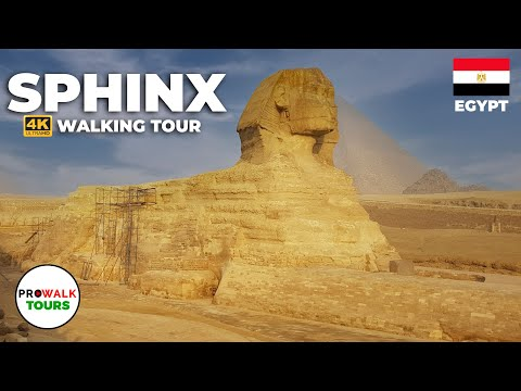 The Sphinx at 8am Walking Tour (4K/60fps)