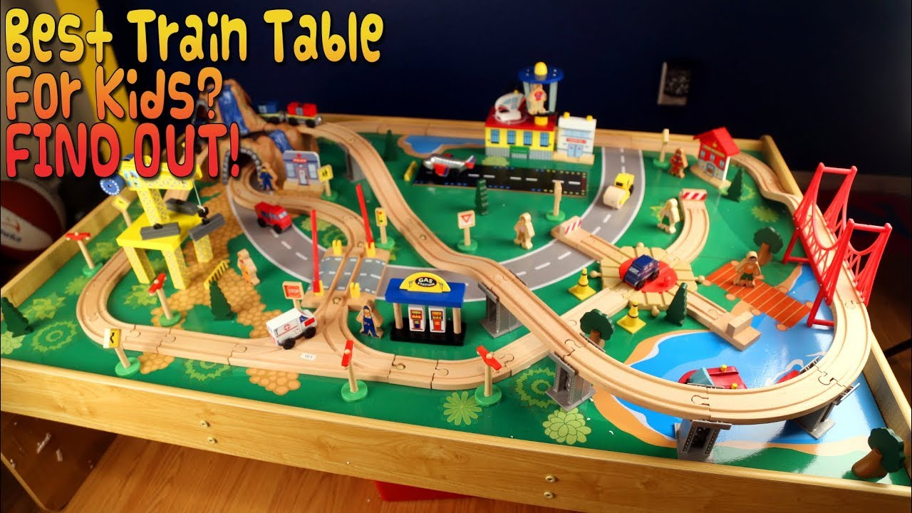 Kidkraft Waterfall Mountain Train Table Review, Unboxing and ...