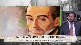 La negra verdad sobre Simón Bolívar